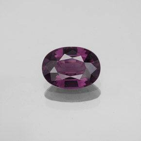 1.4ct Oval facettiert tieflila Spinell Edelstein (ID: 349458)