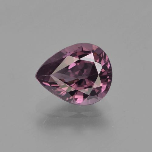 Purple Spinel Gem - 1.3ct Pear Facet (ID: 349491)