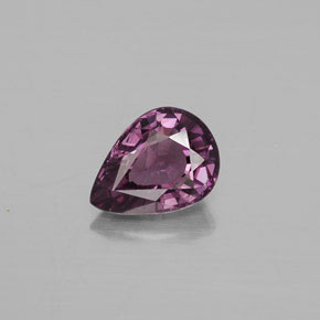 Purple Spinel Gem - 1.3ct Pear Facet (ID: 352930)