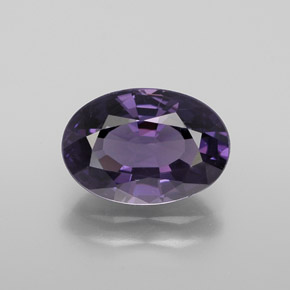 1.91 ct Oval Facet Medium Violet Spinel Gemstone 9.15 mm x 6.4 mm (Product ID: 365350)