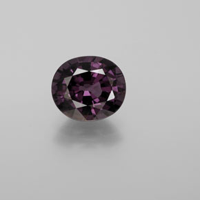 2ct Oval Facet Grape Violet Spinel Gem (ID: 369258)