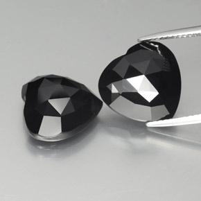 thumb image of 8.8ct Heart Rose-Cut Black Spinel (ID: 379039)