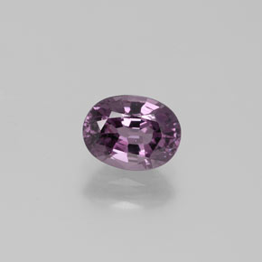 Light Purple Spinel Gem - 1.6ct Oval Facet (ID: 382391)
