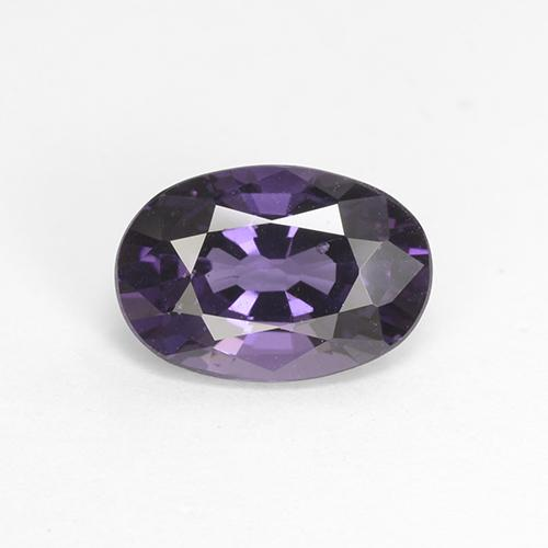 Grape Violet Spinel Gem - 1.8ct Oval Facet (ID: 382396)