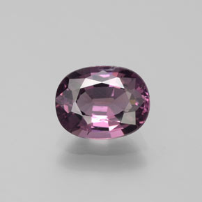 Purple Spinel Gem - 1.5ct Oval Facet (ID: 382489)