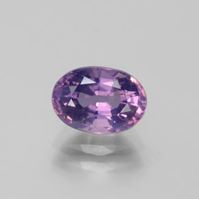 1.4ct Oval Facet Pink Violet Spinel Gem (ID: 382490)