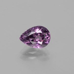 Purple Spinel Gem - 1.5ct Pear Facet (ID: 382627)