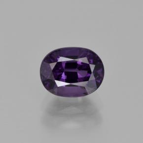 Purple Spinel Gem - 1.4ct Oval Facet (ID: 400457)