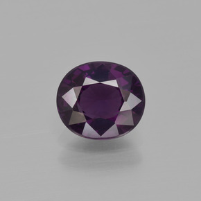 1.3ct Oval Facet Dark Violet Spinel Gem (ID: 400463)