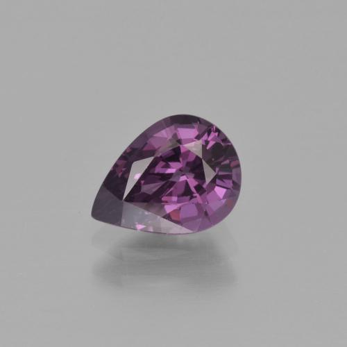 Purple Spinel Gem - 1.3ct Pear Facet (ID: 400466)