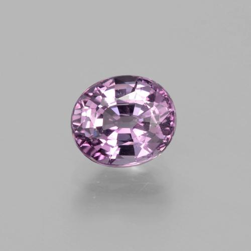 Pinkish Purple Spinel Gem - 1.3ct Oval Facet (ID: 400473)