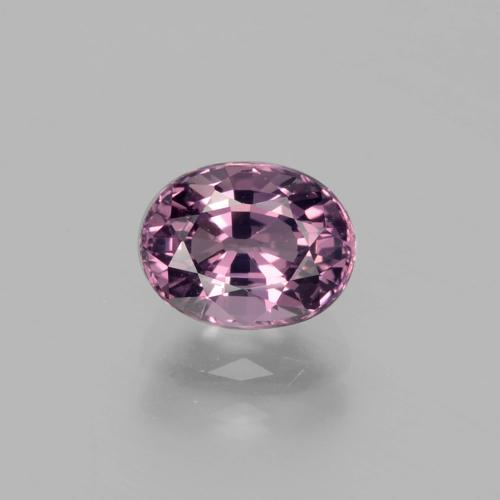 Purple Spinel Gem - 1.3ct Oval Facet (ID: 400474)