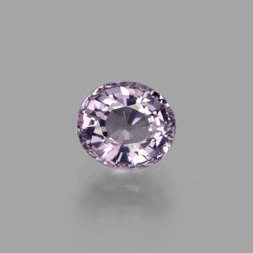 1.1ct Oval Facet Light Violet Spinel Gem (ID: 400477)