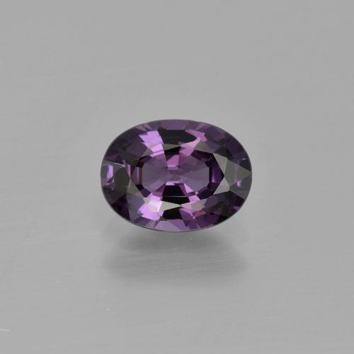 1.1ct Oval Facet Medium Violet Spinel Gem (ID: 400591)
