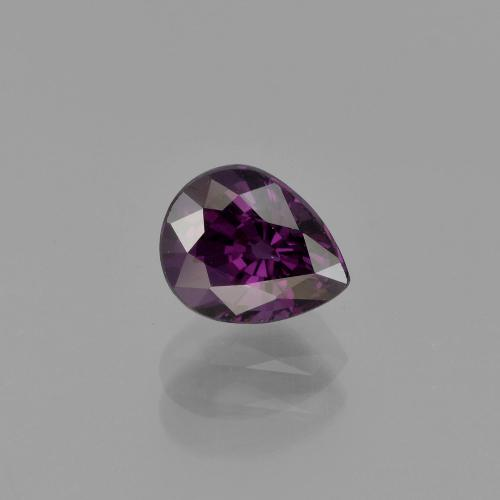 Purple Spinel Gem - 1.1ct Pear Facet (ID: 400640)
