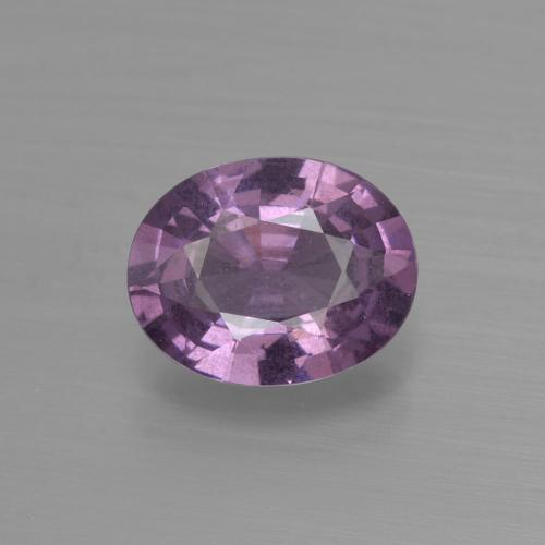 Purple Spinel Gem - 1.4ct Oval Facet (ID: 400651)