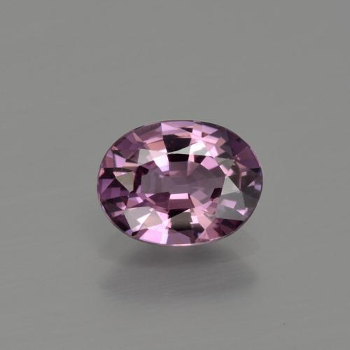 Purple Spinel Gem - 1ct Oval Facet (ID: 401798)