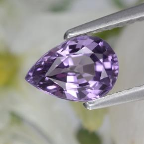 Purple Spinel Gem - 0.9ct Pear Facet (ID: 401874)