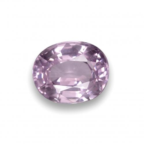 Purplish Pink Spinel Gem - 0.9ct Oval Facet (ID: 401917)