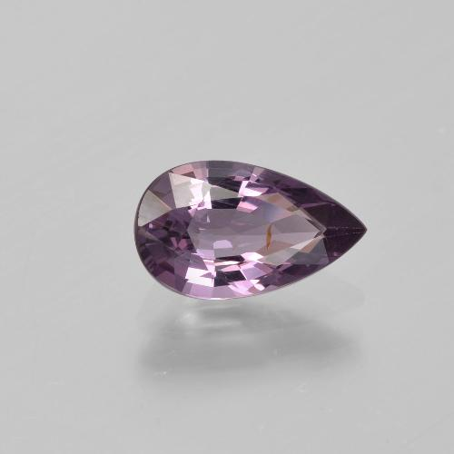 Purple Spinel Gem - 1.3ct Pear Facet (ID: 402842)