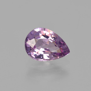 Purple Spinel Gem - 1.3ct Pear Facet (ID: 402862)