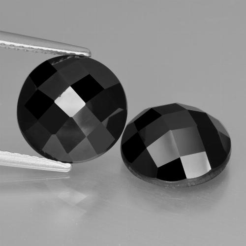 Buy 7.87 ct Black Spinel 10.14 mm  from GemSelect (Product ID: 426799)