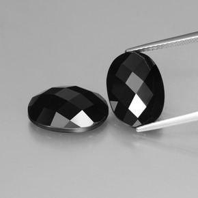 Schorl Spinel Gem - 6.4ct Oval Rose-Cut (ID: 426841)