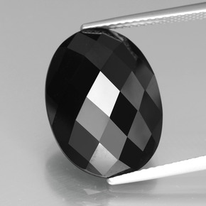 Buy 12.08 ct Black Spinel 17.58 mm x 13 mm from GemSelect (Product ID: 438288)