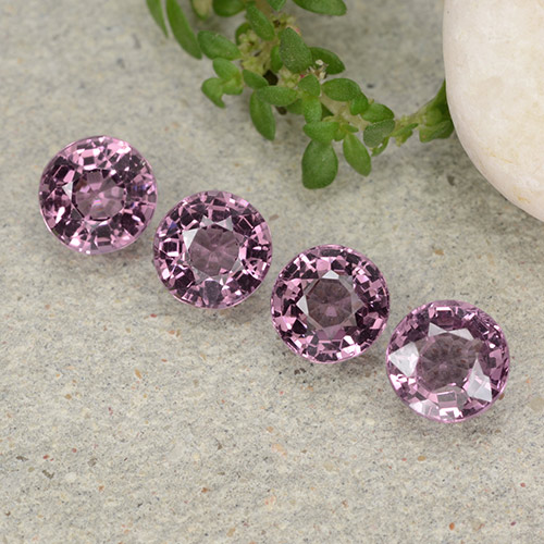 thumb image of 0.6ct Round Facet Purplish Pink Spinel (ID: 483438)