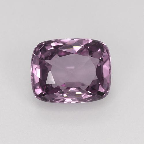 Pinkish Violet Spinel Gem - 1.4ct Cushion-Cut (ID: 483628)