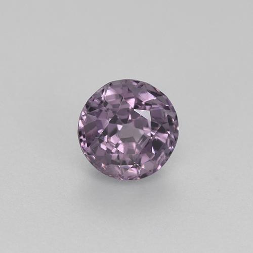 Purple Spinel Gem - 0.8ct Round Facet (ID: 483823)