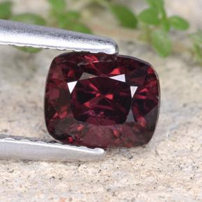 thumb image of 1.1ct Cushion-Cut Purplish Red Spinel (ID: 484551)