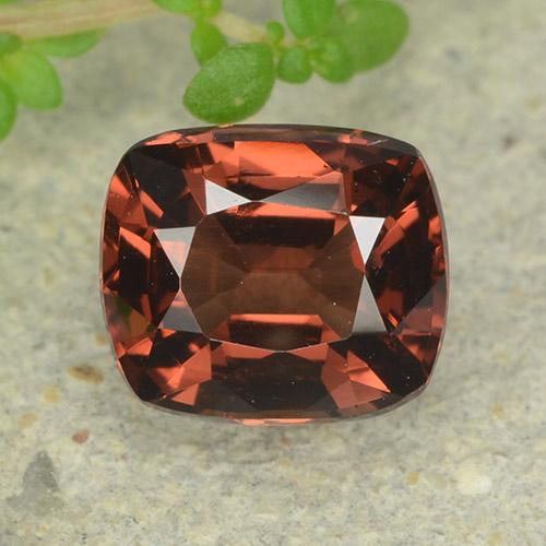 Red Spinel Gem - 1.1ct Cushion-Cut (ID: 484577)