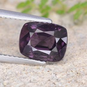 Violet Spinelle gemme - 2.5ct Coussin-coupe (ID: 484607)