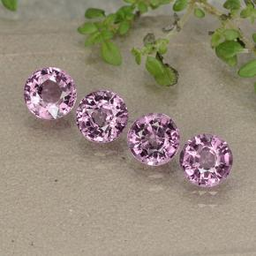 thumb image of 0.6ct Round Facet Purplish Pink Spinel (ID: 484982)
