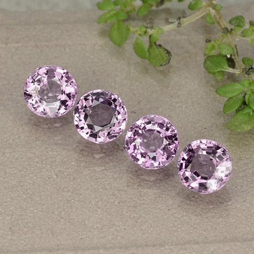 thumb image of 0.6ct Round Facet Purplish Pink Spinel (ID: 484986)