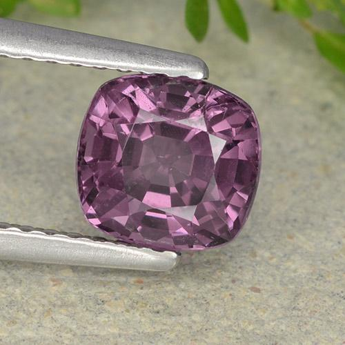 1.5ct Cushion-Cut Violet Spinel Gem (ID: 490327)