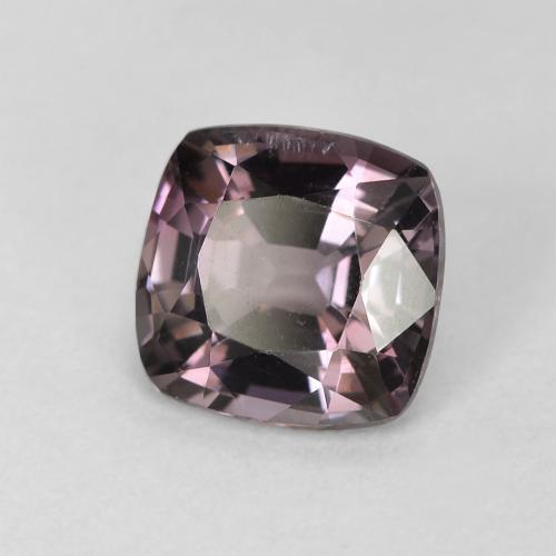 Grayish Violet Spinel Gem - 1.6ct Cushion-Cut (ID: 490341)