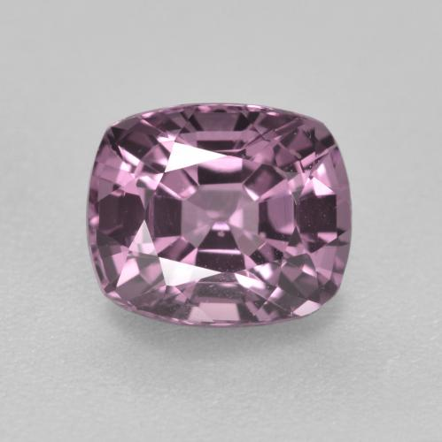 Medium Purple Espinela Gema - 1.3ct Corte en Forma Cojín (ID: 495772)