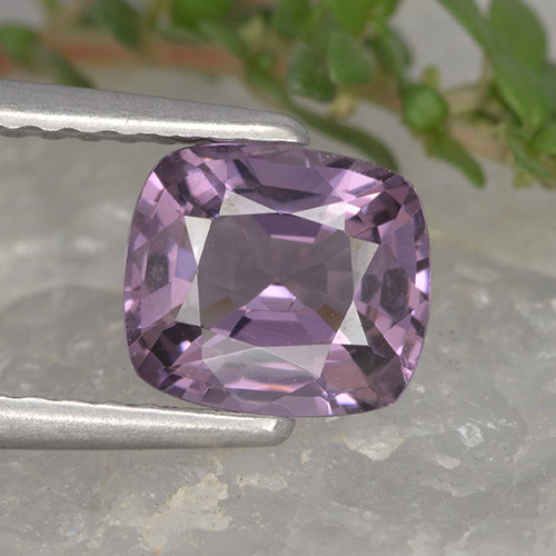 1.3ct Cushion-Cut Violet Pink Spinel Gem (ID: 495792)