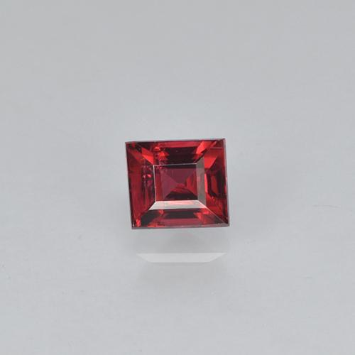 Deep Wine Red Spinel Gem - 0.3ct Baguette Step Cut (ID: 503424)