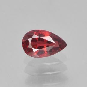 Deep Blood Red Spinel Gem - 0.4ct Pear Facet (ID: 503572)