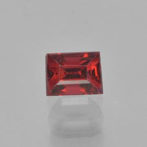 Red Spinel Gem - 0.4ct Baguette Step Cut (ID: 503573)