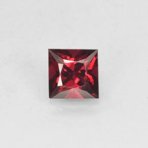 Red Spinel Gem - 0.5ct Princess-Cut (ID: 503632)