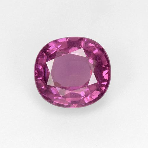 Pinkish Purple Spinel Gem - 1.5ct Cushion-Cut (ID: 510480)
