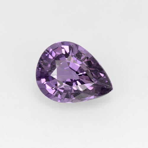 1.01 ct Pear Facet Violet Spinel Gemstone 7.34 mm x 5.6 mm (Product ID: 510482)