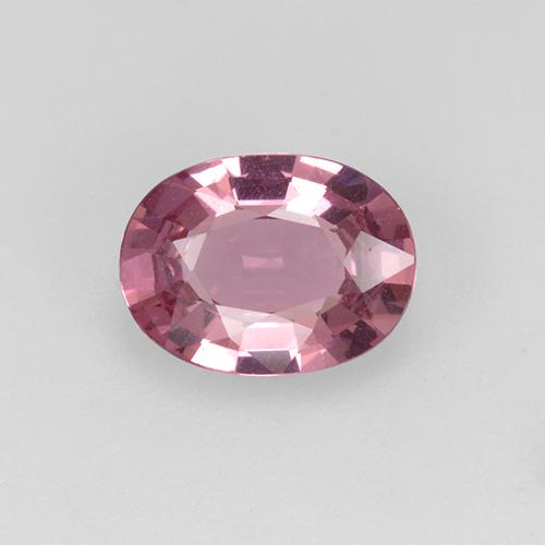 Pinkish Rose Spinel Gem - 1ct Oval Facet (ID: 510485)