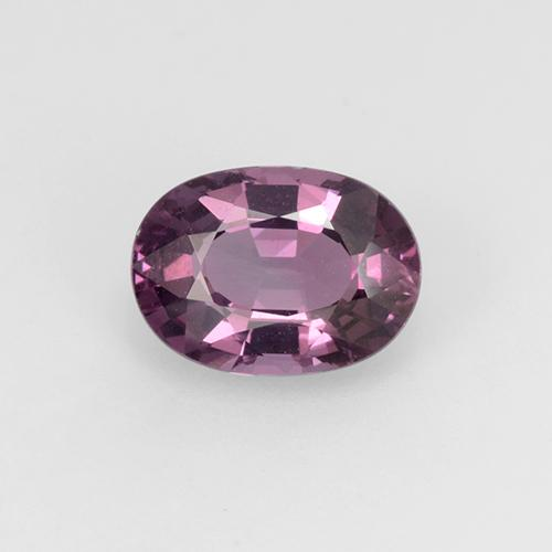 Medium Purple Spinel Gem - 1.3ct Oval Facet (ID: 510490)
