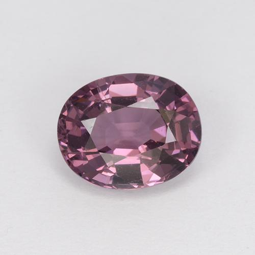 Medium-Dark Purple Espinela Gema - 1.2ct Forma ovalada (ID: 510499)