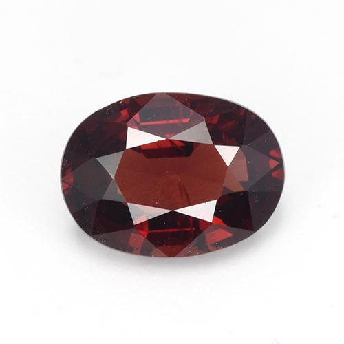 1.1ct Oval Facet Deep Red Spinel Gem (ID: 513259)